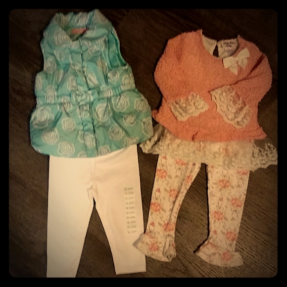 2 adorable outfits 24 months